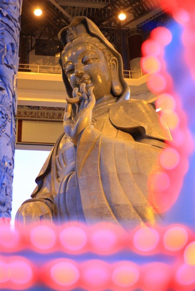 Photo in Random #kuan #yin #statue
