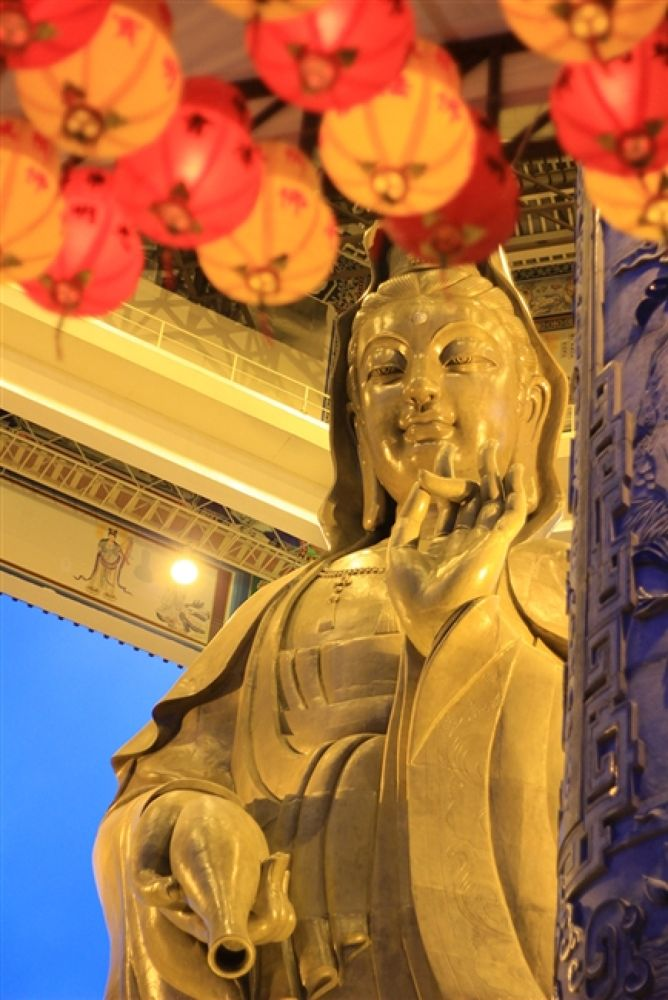 Photo in Random #kuan #yin #statue
