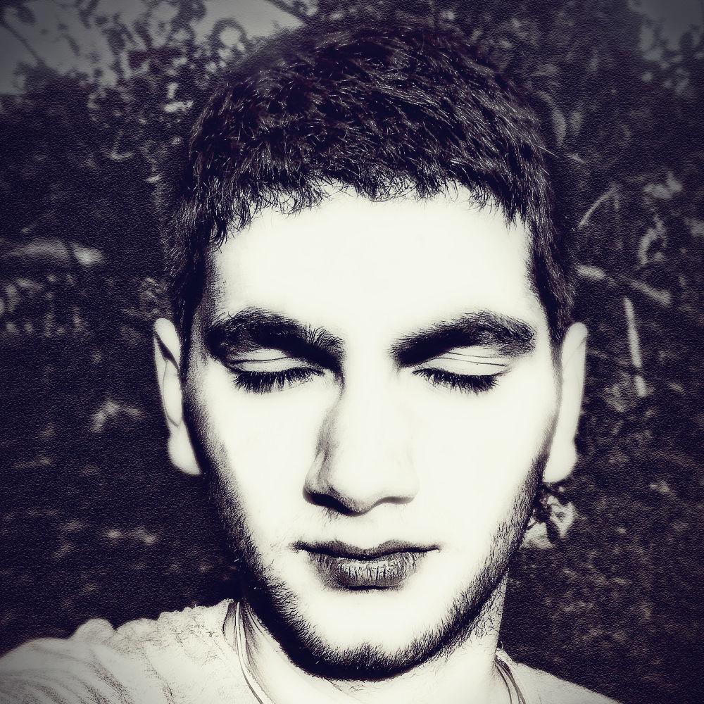 Photo in Portrait #portrait #autoportrait #me #face #sleep #close #black and white