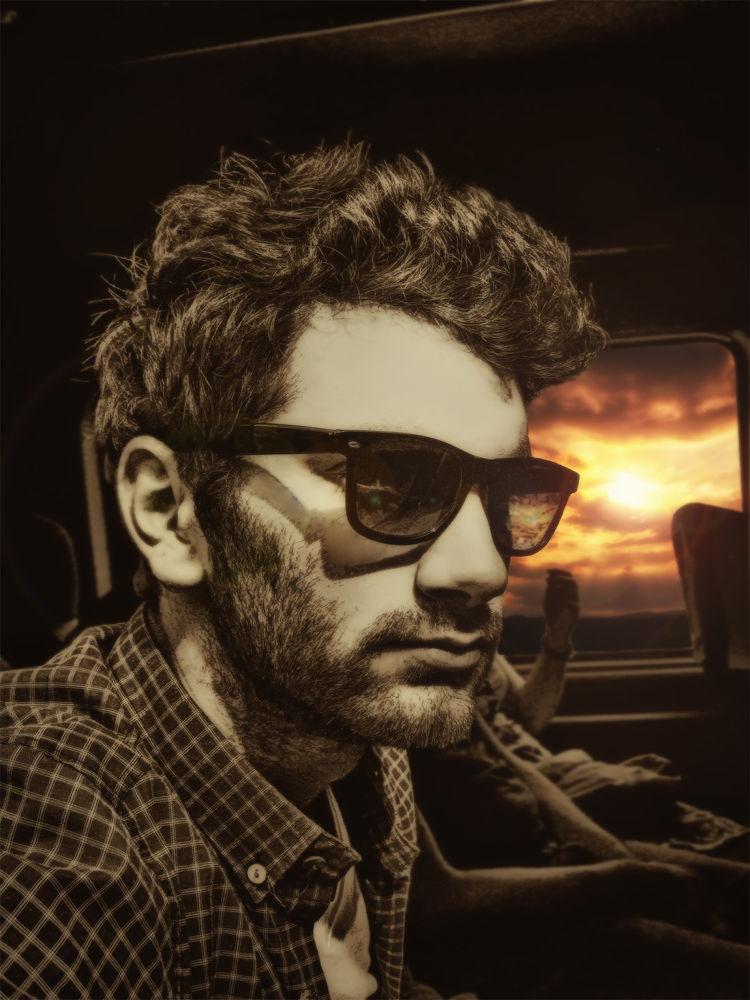 Photo in Portrait #me #portrait #max #sunset #glasses #boy #man