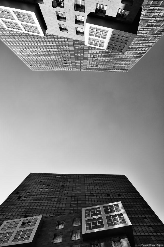Photo in Random #bilbao bilbo black and white #hola #bilbao #bilbo #black and white #blanco y negro #building #cityscape #edificio #formas #light #luz #shadow #sombra #shapes #pais vasco