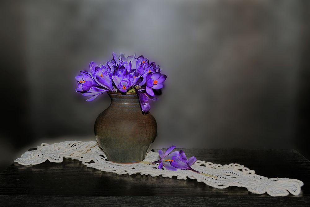 Photo in Still Life #branduse #tablou #vas cu flori