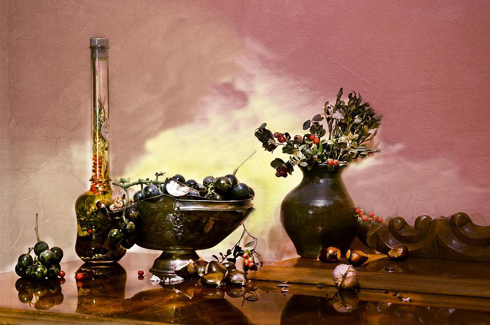 Photo in Still Life #autumn still life light frui
