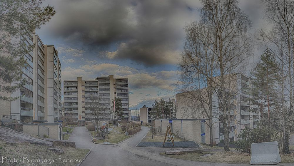 Photo in Cityscape #romsås #oslo #norway #housing cooperative