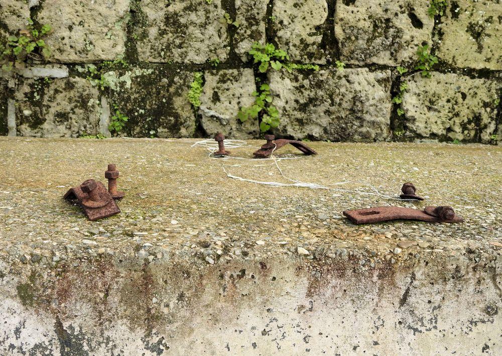 Photo in Random #delirium tremends 62 #ferro #iron #mostra d'oltremare #rusted