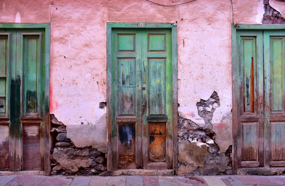 Photo in Architecture #doors #wall #architecture #building #old #stone #city