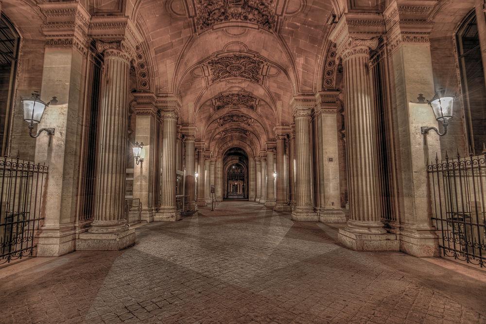 Photo in Random #paris #early #louvre #city #france #light #hdr #museum #dusk