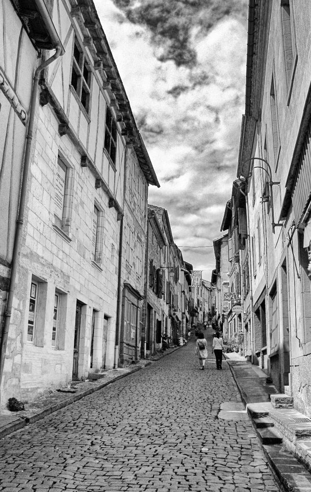 Photo in Random #street #france #black & white #cordes #cordes-sur-ciel