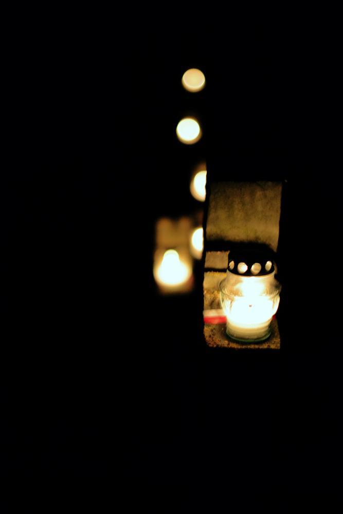 Photo in Random #light #lights #graveyard #dark #darkness #night #shadows #calm #silent