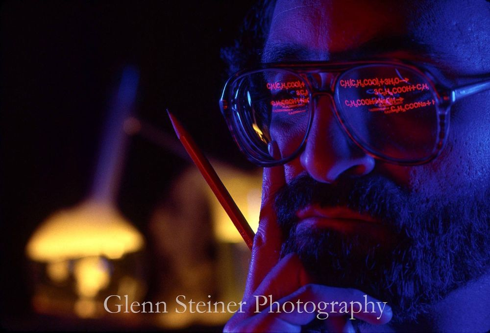 Photo in Industrial #chemistry #future #science #reflections #glennsteiner #noirphotography #annual reports #commercialphotography #studiophotography #industrialphotographer