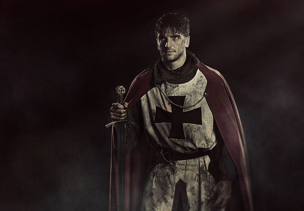 Photo in Random #knights #templers #theatre #male #model #actor #studio #portraits #acting