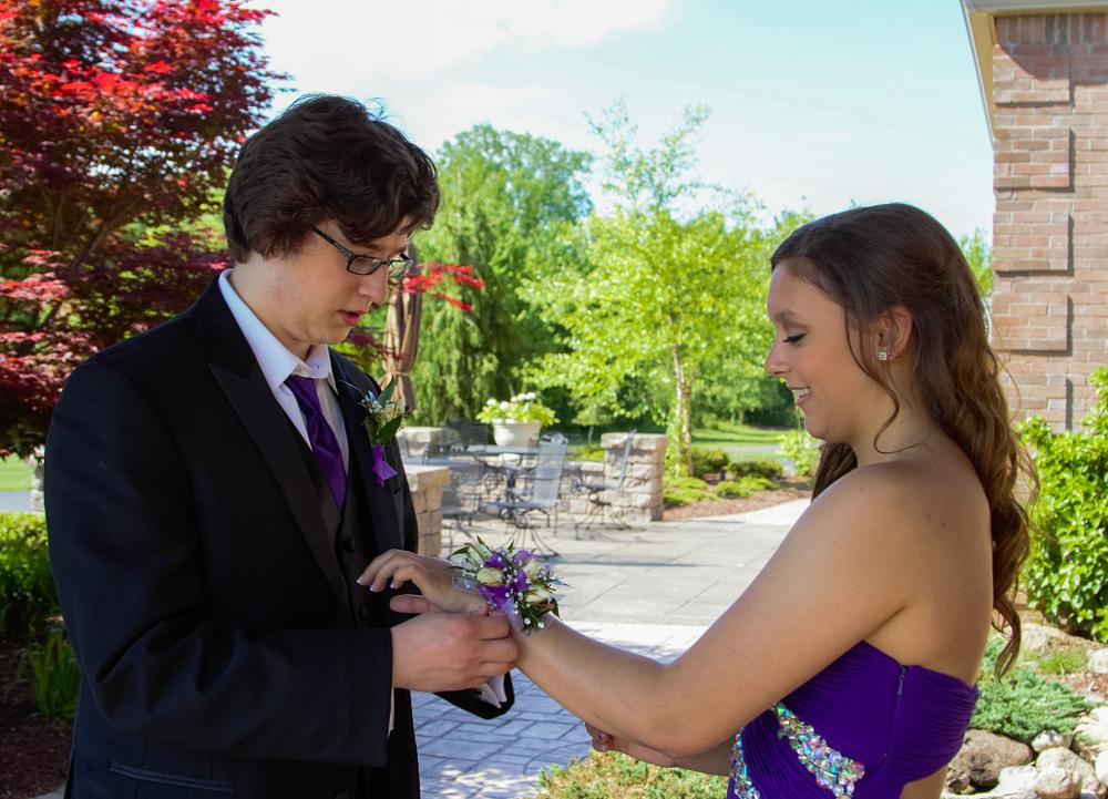 Photo in People #prom #flowers #corsage #2014