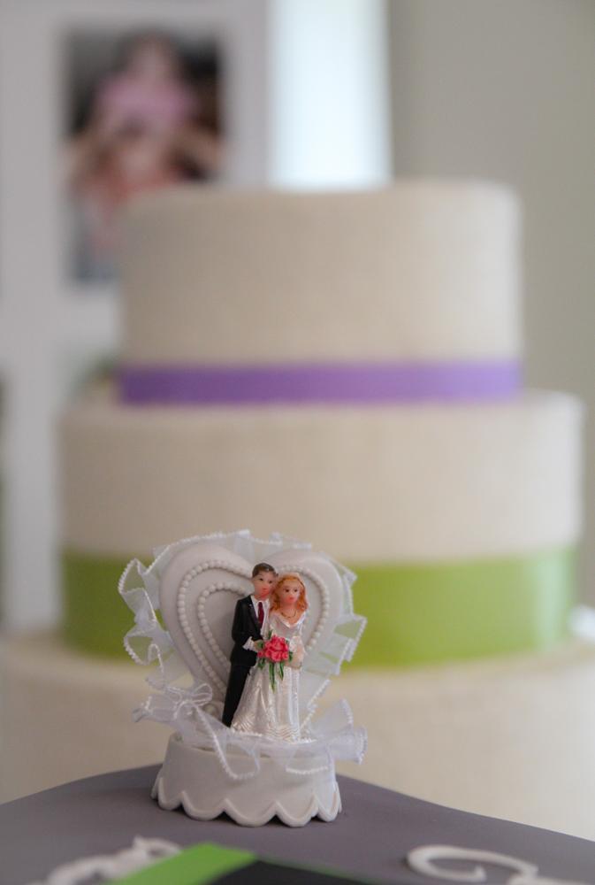 Photo in Wedding #cake #bride #groom #reception