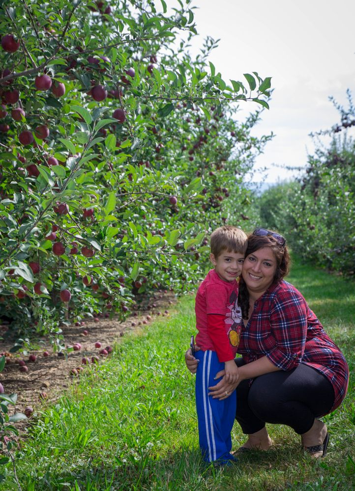 Photo in Family #mom and me #new york #apple picking #family
