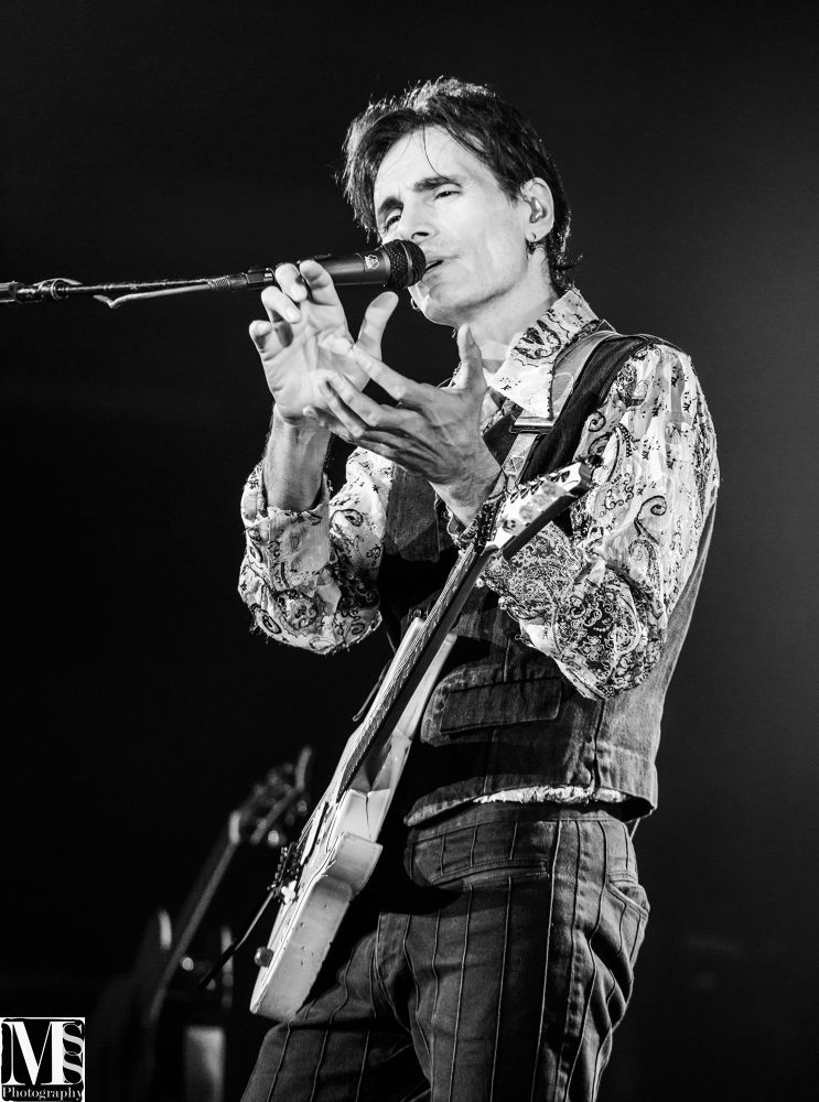 Photo in Black and White #steve #portrait #black and white #concert #mss-photography #vai #steve vai