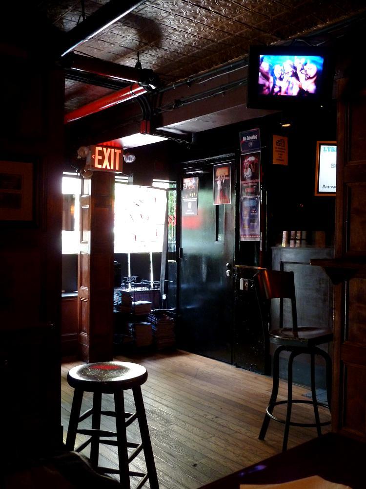 Photo in Random #nyc #the stonewall inn #greenwich village #interior