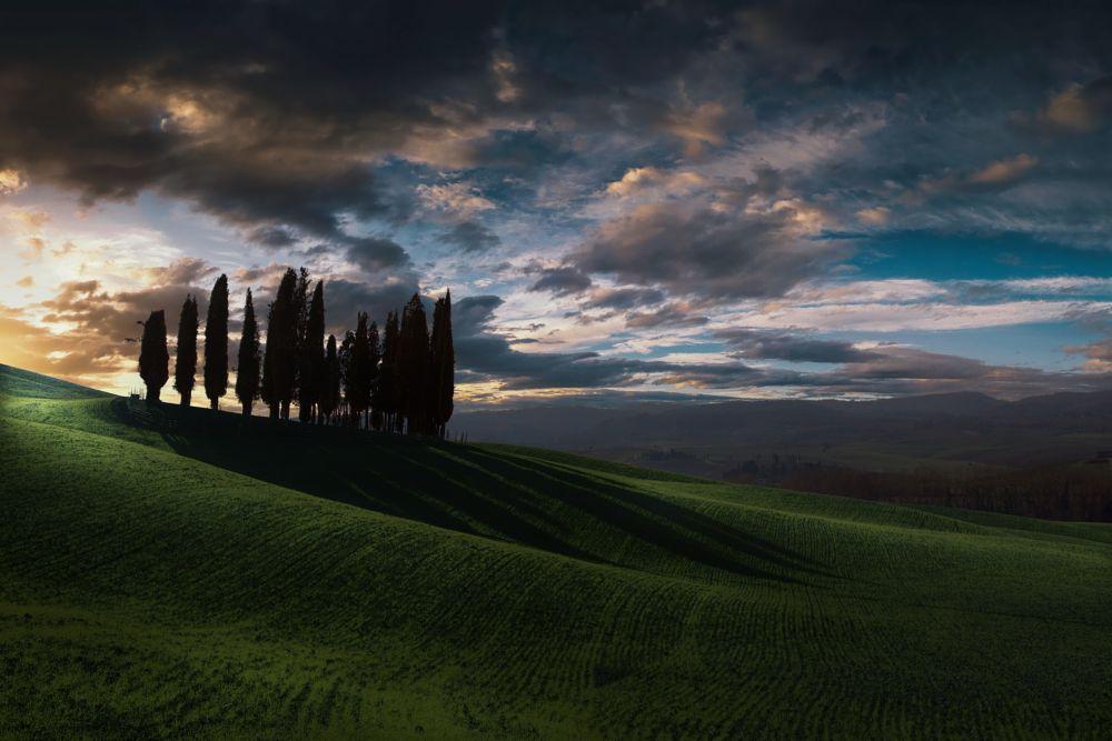 Photo in Landscape #san quirico d' orcia #tuscany #toscana #toscane #canon #montalcino #siena #italy #mark soetebier