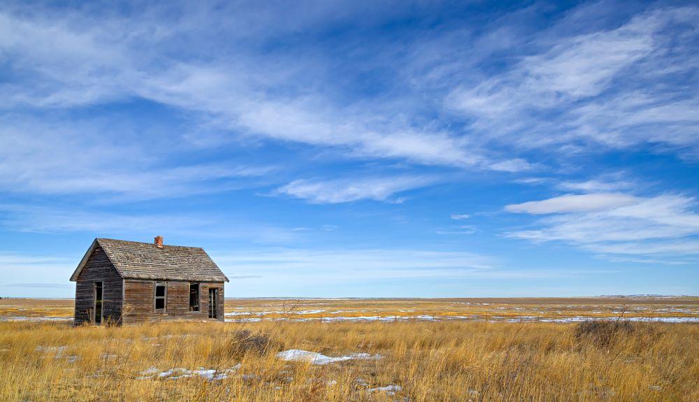 Photo in Landscape #co #weld county colorado #buckingham co #abandoned #rural school #colorado