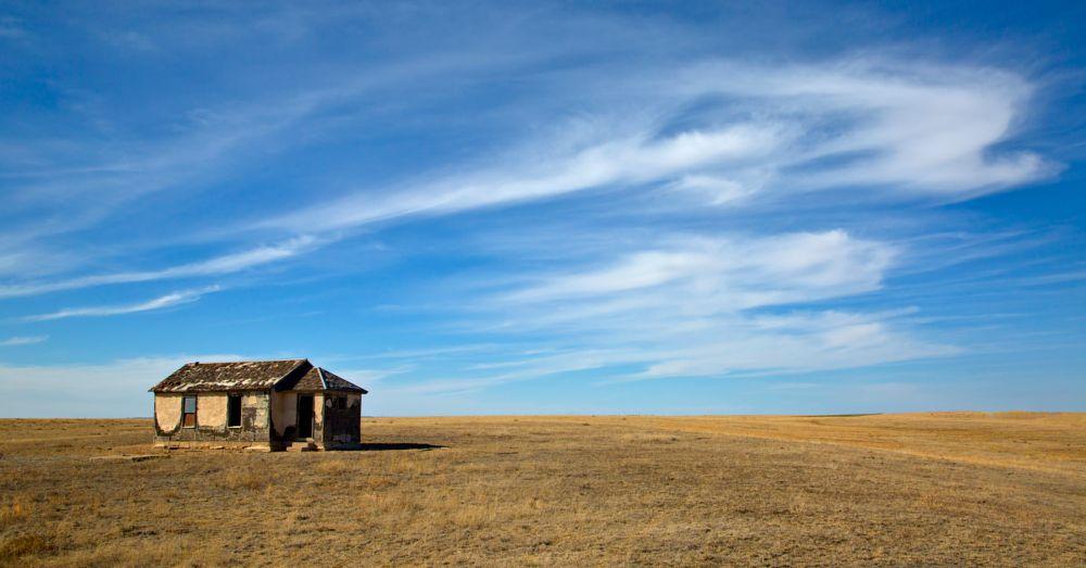 Photo in Landscape #colorado #co #weld county colorado #weld county #rural school #school #abandoned #pawnee grasslands