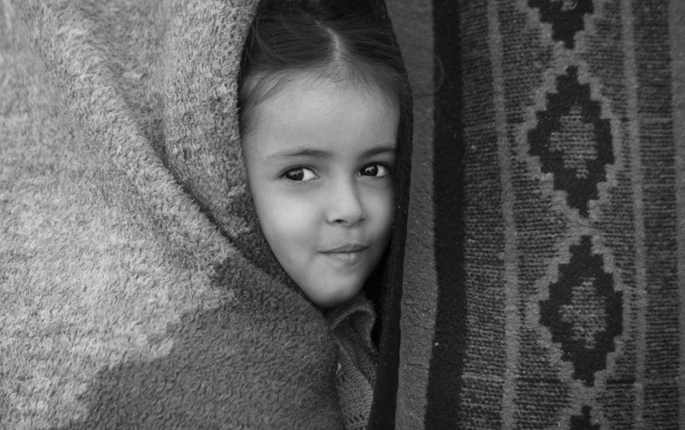 Photo in Portrait #portrait #girl #detail #art #cute #beauty #blackandwhite #eyes #smile