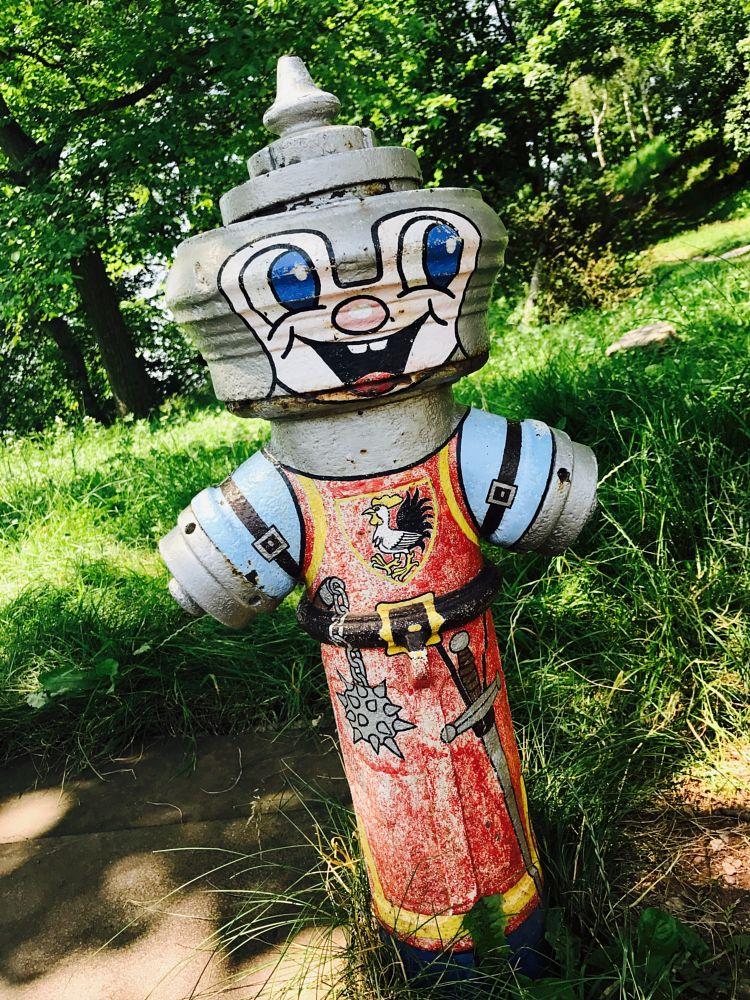 Photo in Urban #water #hydrant #zetko #art #pecka #czech republic
