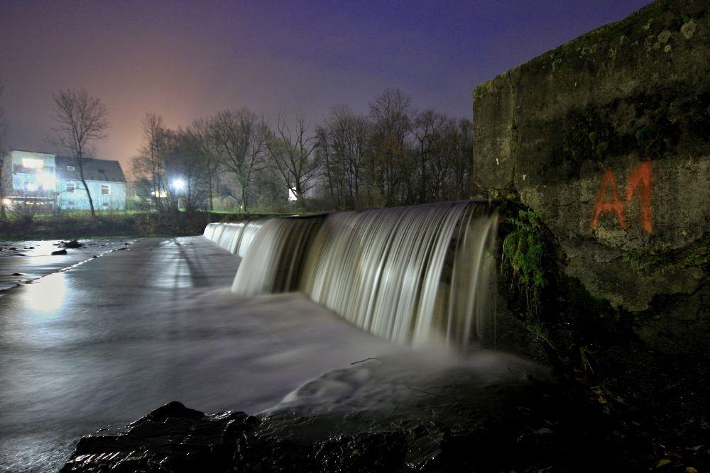 Photo in Landscape #night #river #november #lights