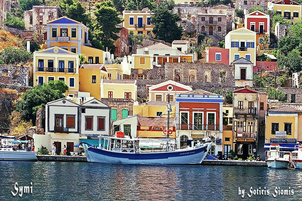 Photo in Architecture #symi #traditional village #greece hellas #dodekanisos #eos 1d mark