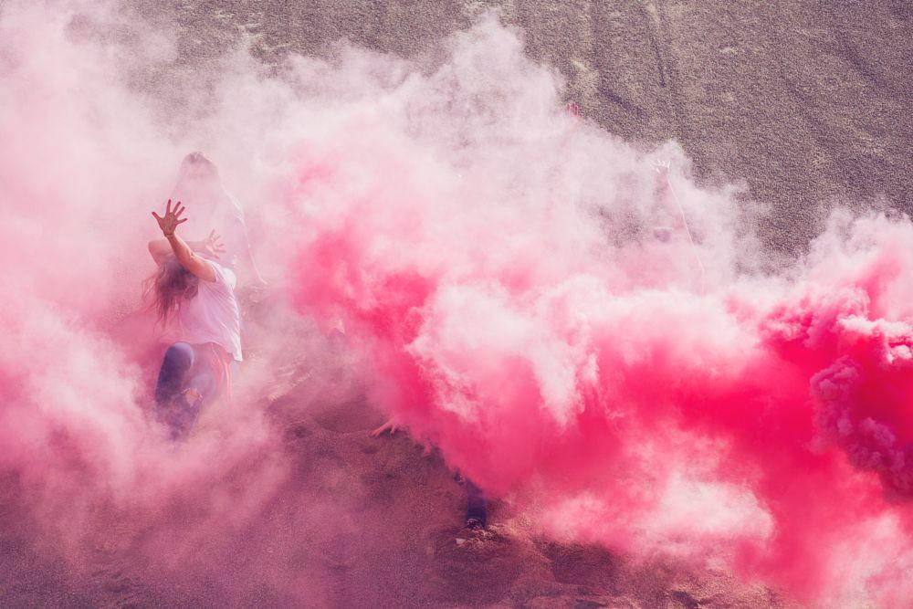 Photo in Random #smoke #red #woman