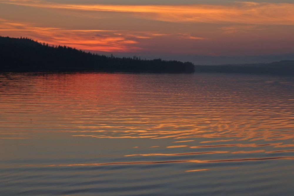 Photo in Nature #finland #colours #lake #sunsets