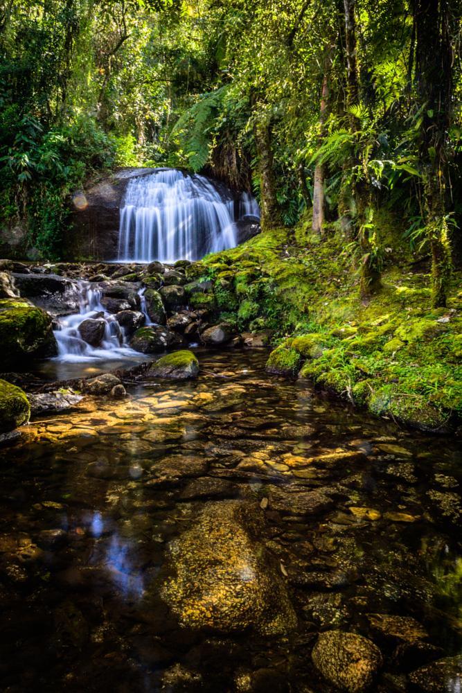 Photo in Nature #brazil #water #waterfall #creek #minas gerais #alcantilado