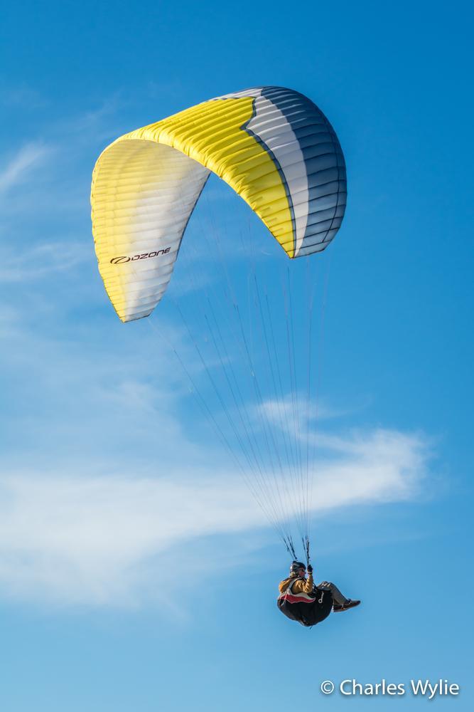 Photo in Random #paragliding #jersey #channel islands