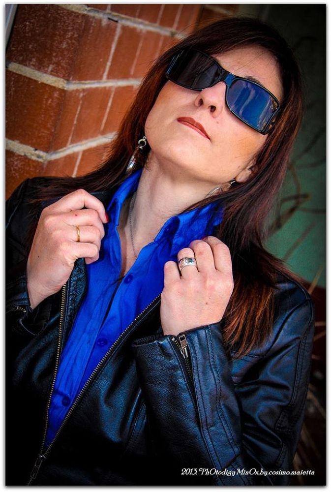 Photo in Portrait #barbara #color #face #sexy #woman