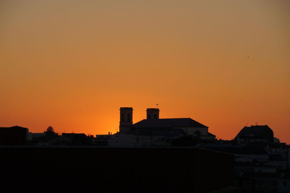 Photo in Cityscape #soleil #town #city #sun