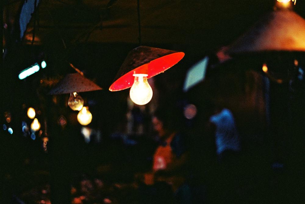 Photo in Film #lights #market #bulb