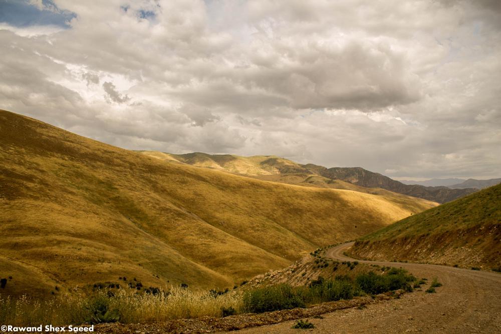Photo in Landscape #landscapes #nature #canon #road #halabja #village sazan #canon d1100 #clouds