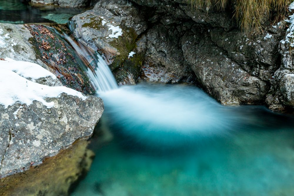 Photo in Nature #waterfall #waterfalls #waterscape #water #winter #vertova