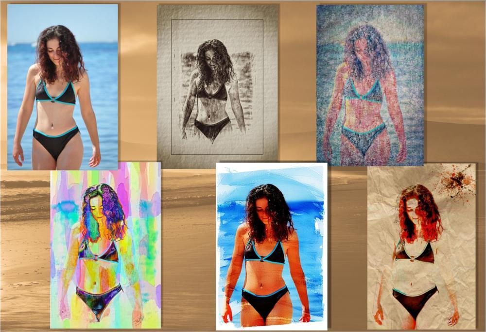 Photo in Travel #model #bikini #sea #water
