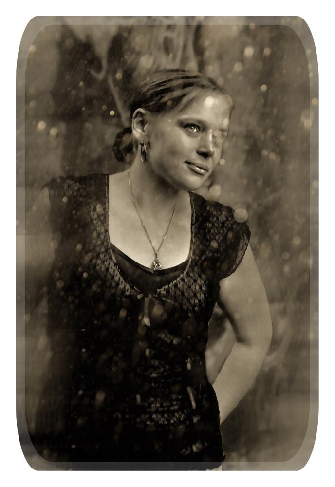Photo in Vintage #snow #portrait #vintage