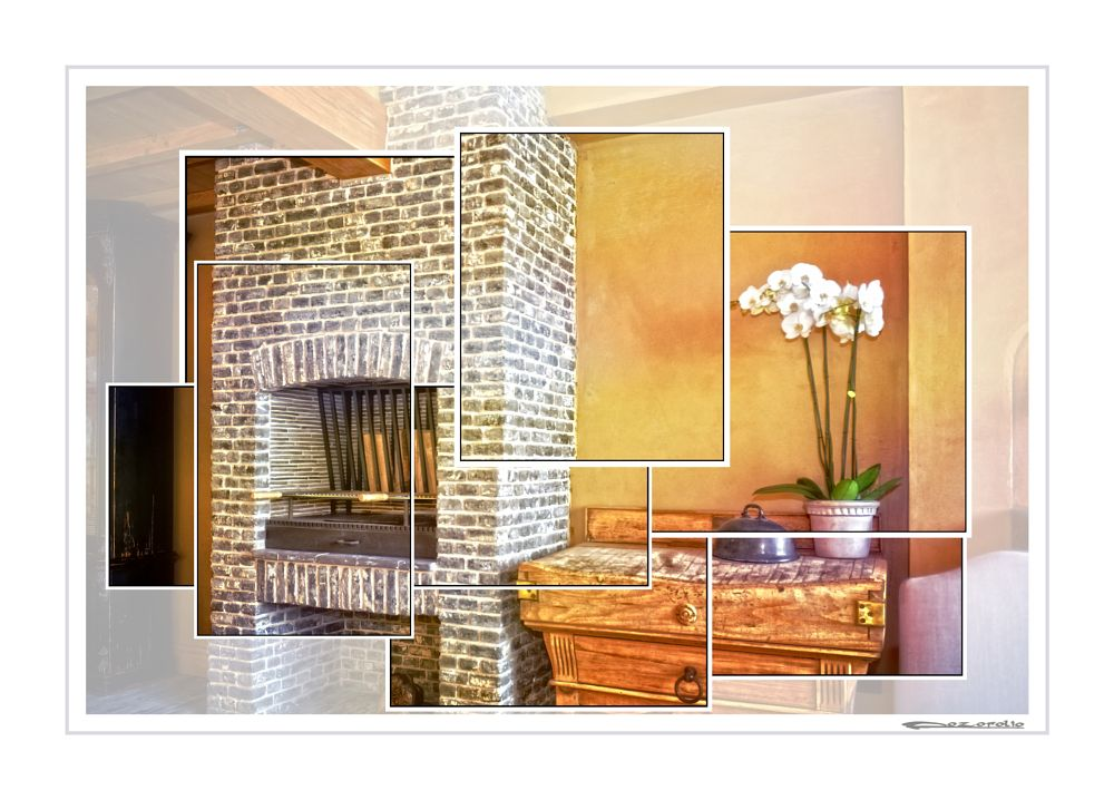 Photo in Architecture #fireplace #bbq