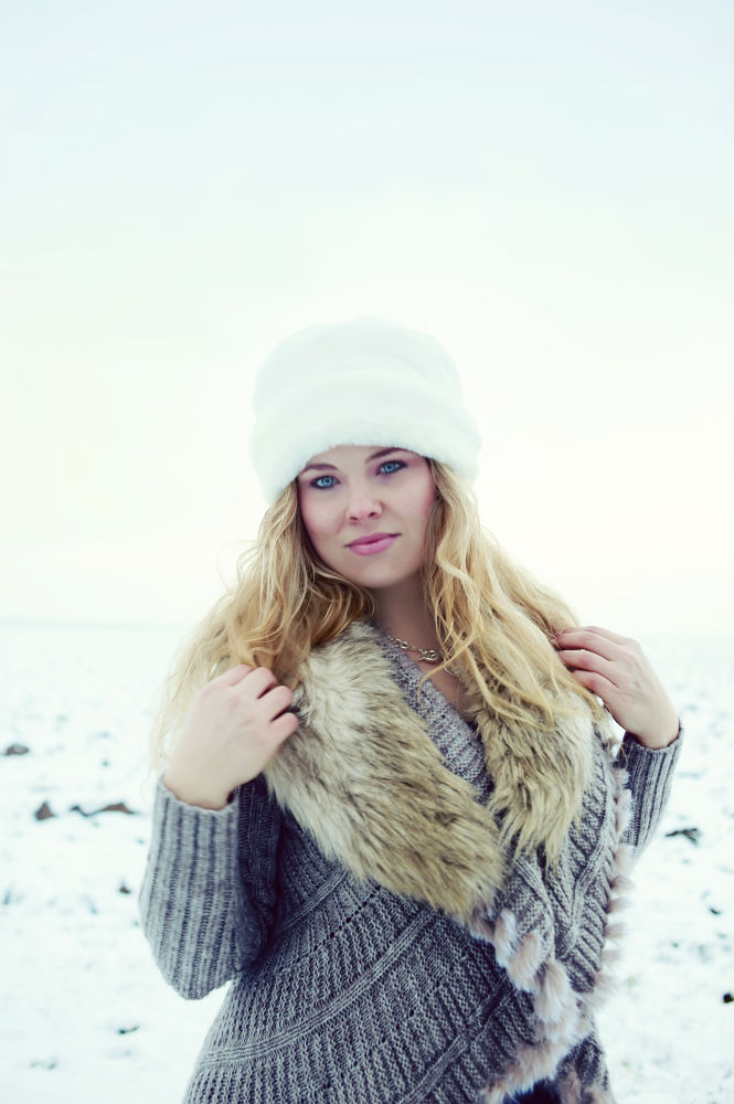 Photo in Random #cold #winter #snow #beauty #model