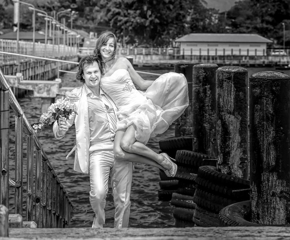 Photo in Wedding #iosif yurlov #photographer in phuket #wedding in phuket