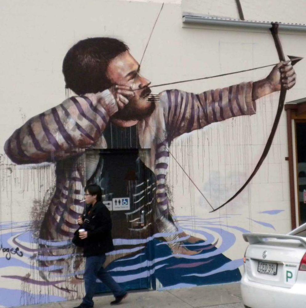 Photo in Random #fintan magee #street art #newtown