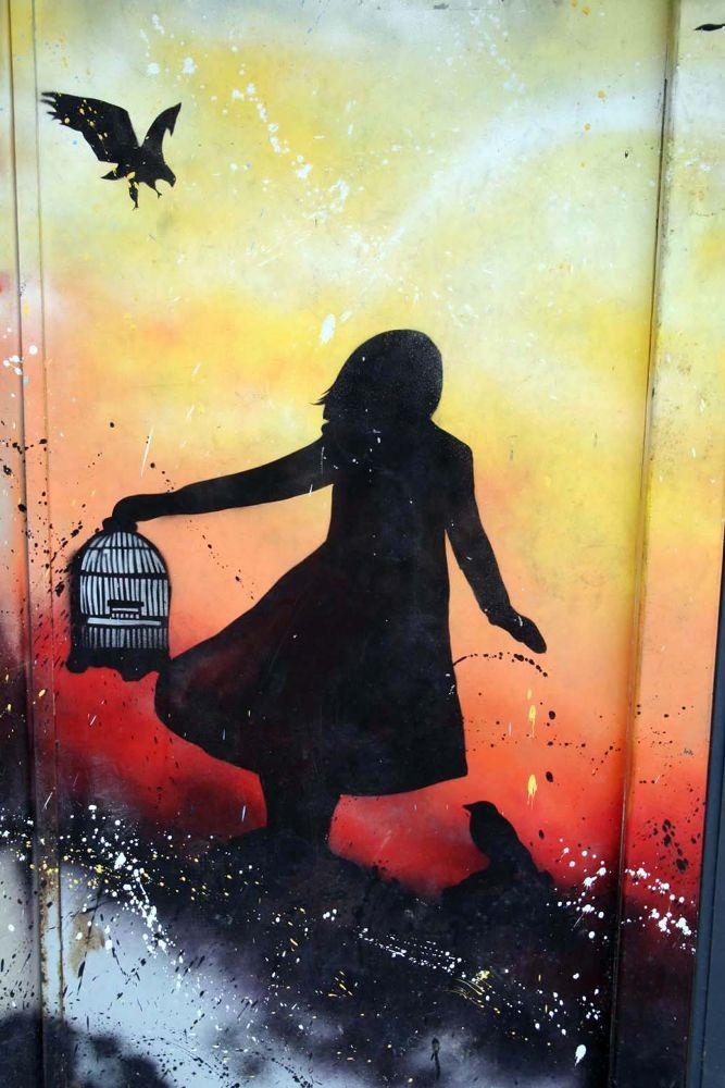 Photo in Urban #liliwenn #street art #street art paris #vitry sur seine