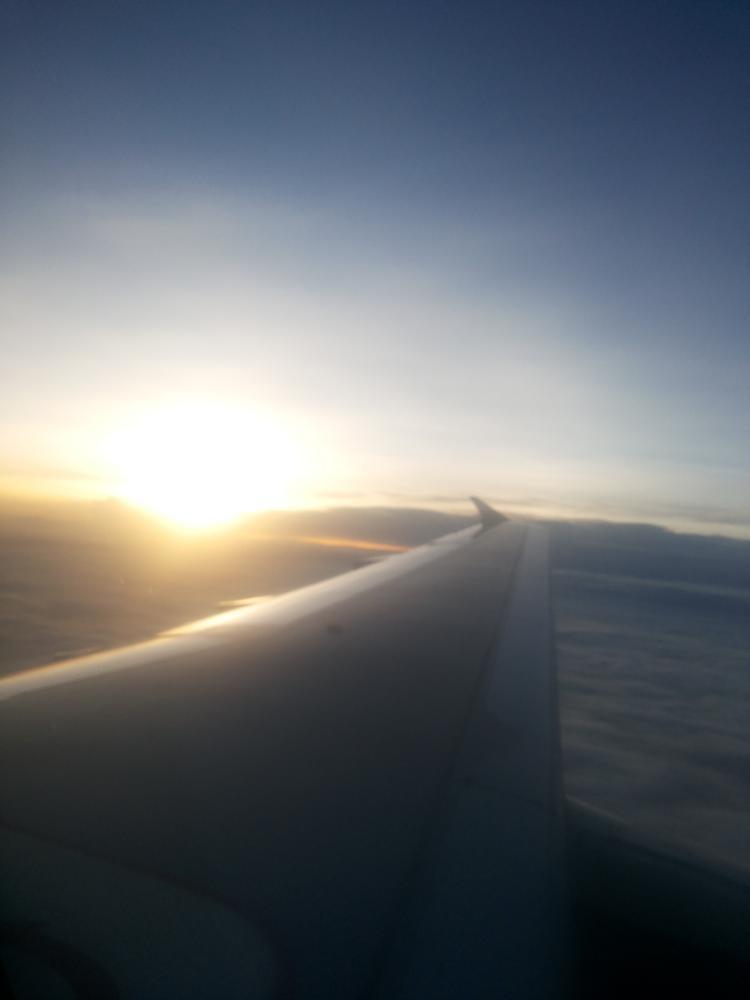 Photo in Nature #cloud #flight #sunset
