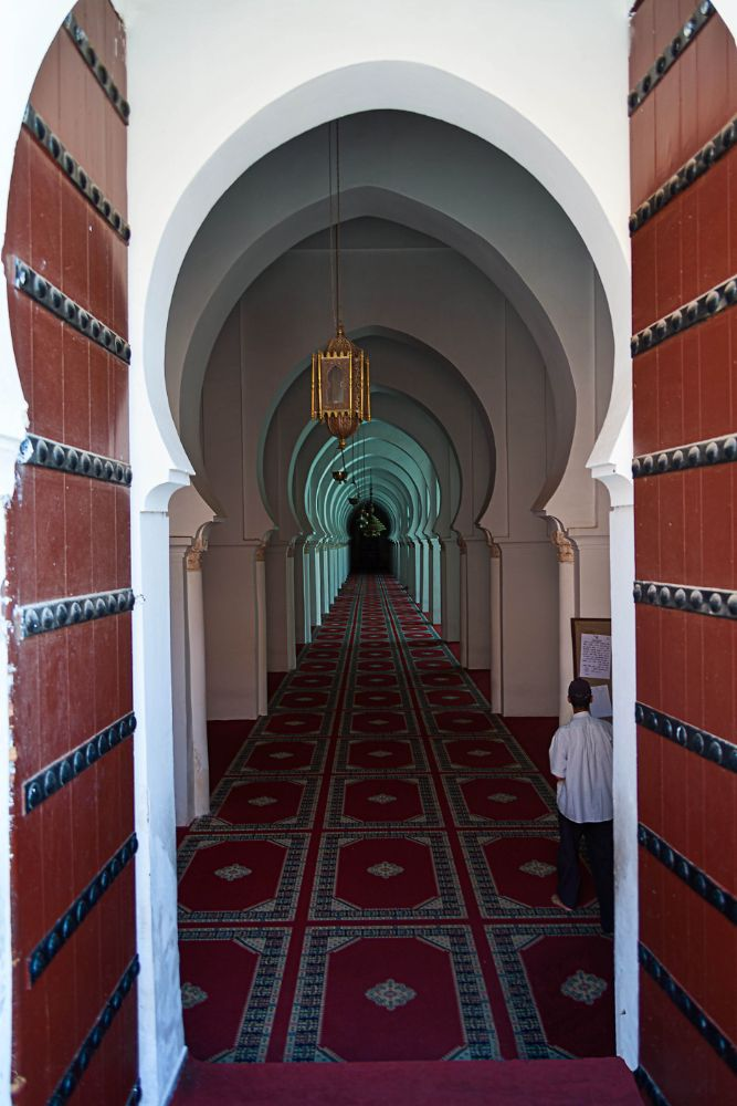 Photo in Architecture #koutoubia mosque #mosque #interior #entrance