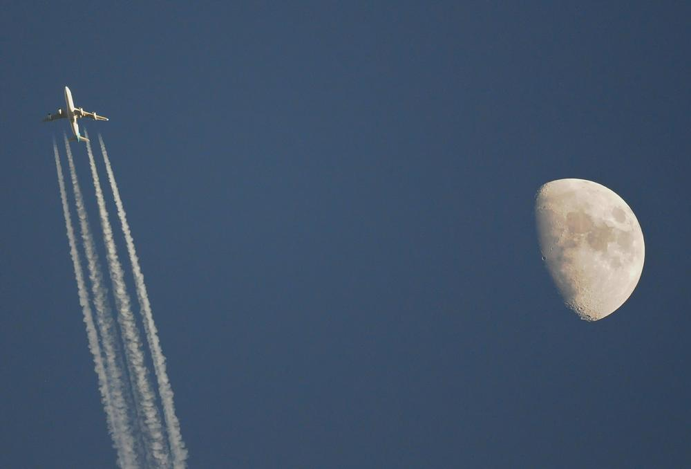 Photo in Astrophotography #moon #boeing