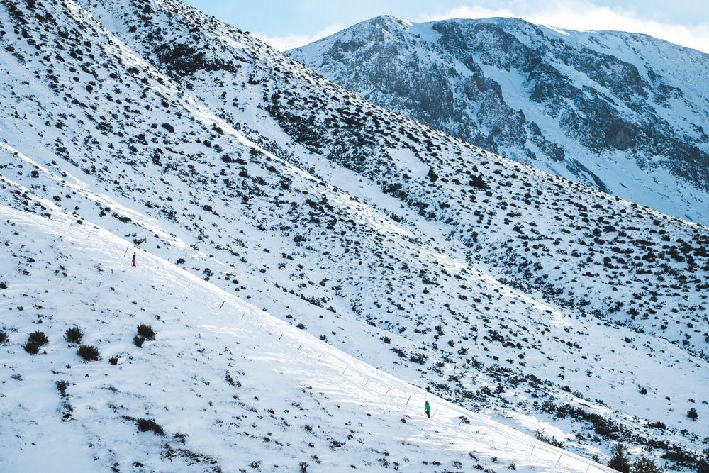 Photo in Random #winter #snow #mountain #new zealand #landscape #snowboarding #ski field #classic chrome