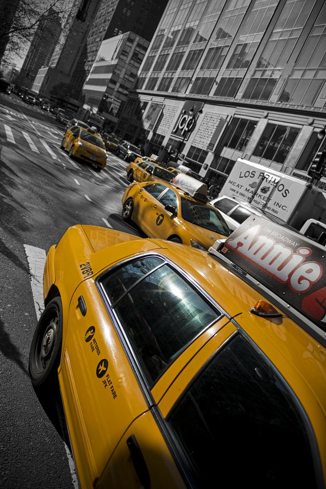Photo in Cityscape #new york #taxi