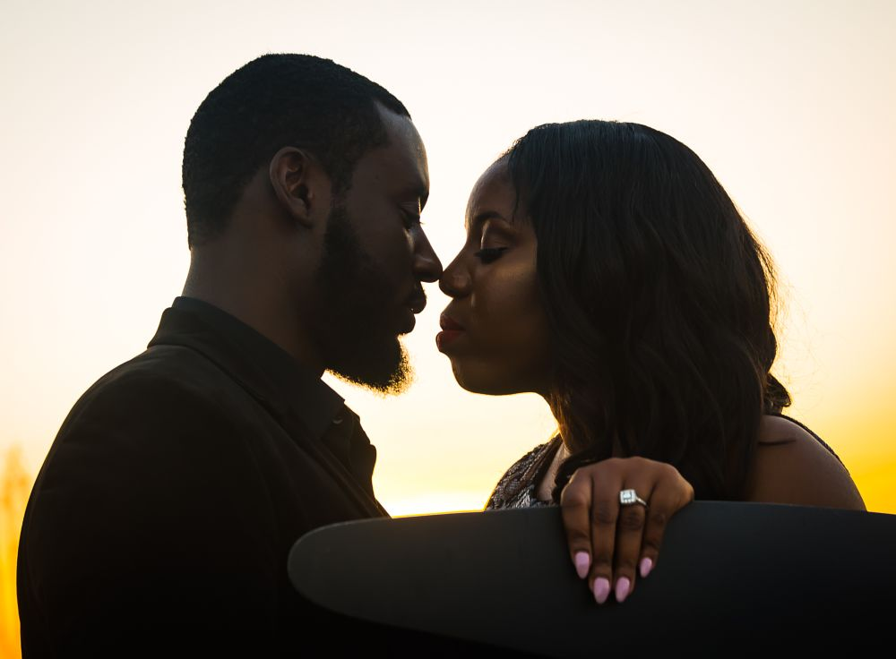 Photo in Random #love #engagement #kisses