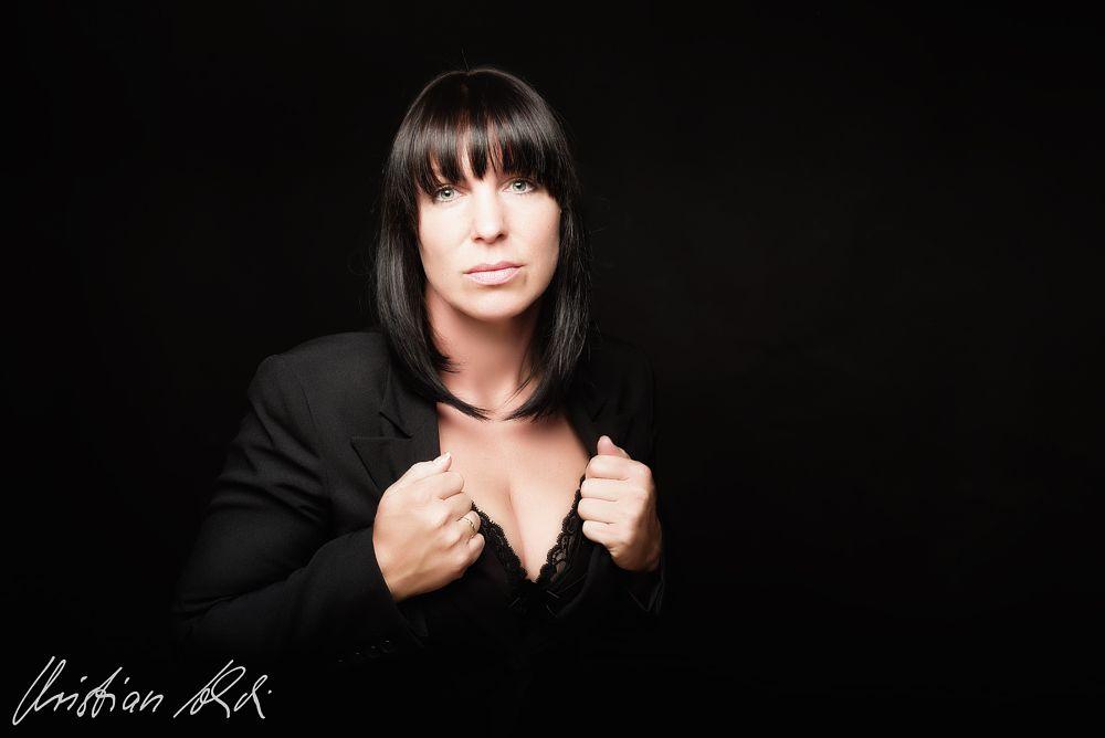Photo in Portrait #woman #beauty #portrait #people #black&white #sexy